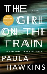 US Hardcover of The Girl on the Train by Paula Hawkins